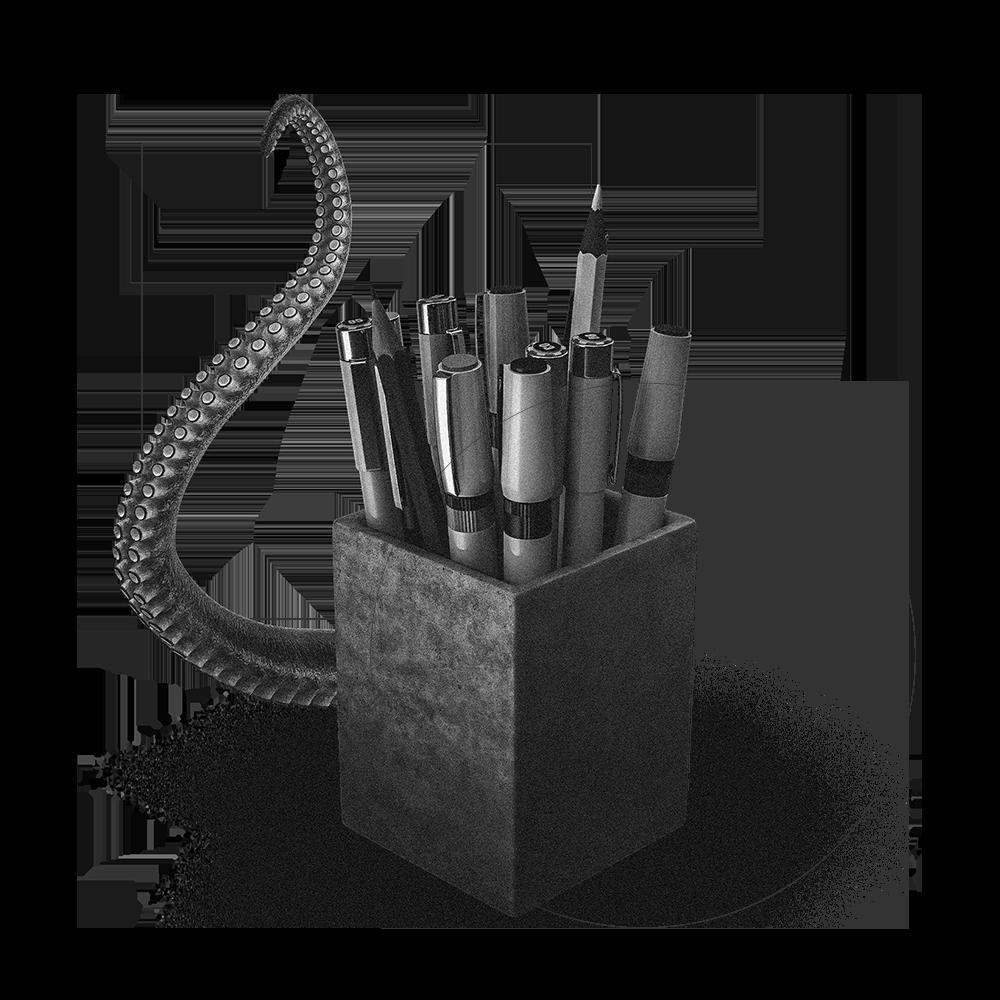 Image de matériel d'architecte pour l'entreprise : Studio Edoras. Studio de création de Design de site internet, d'Expérience utilisateur et de Communication Visuelle
