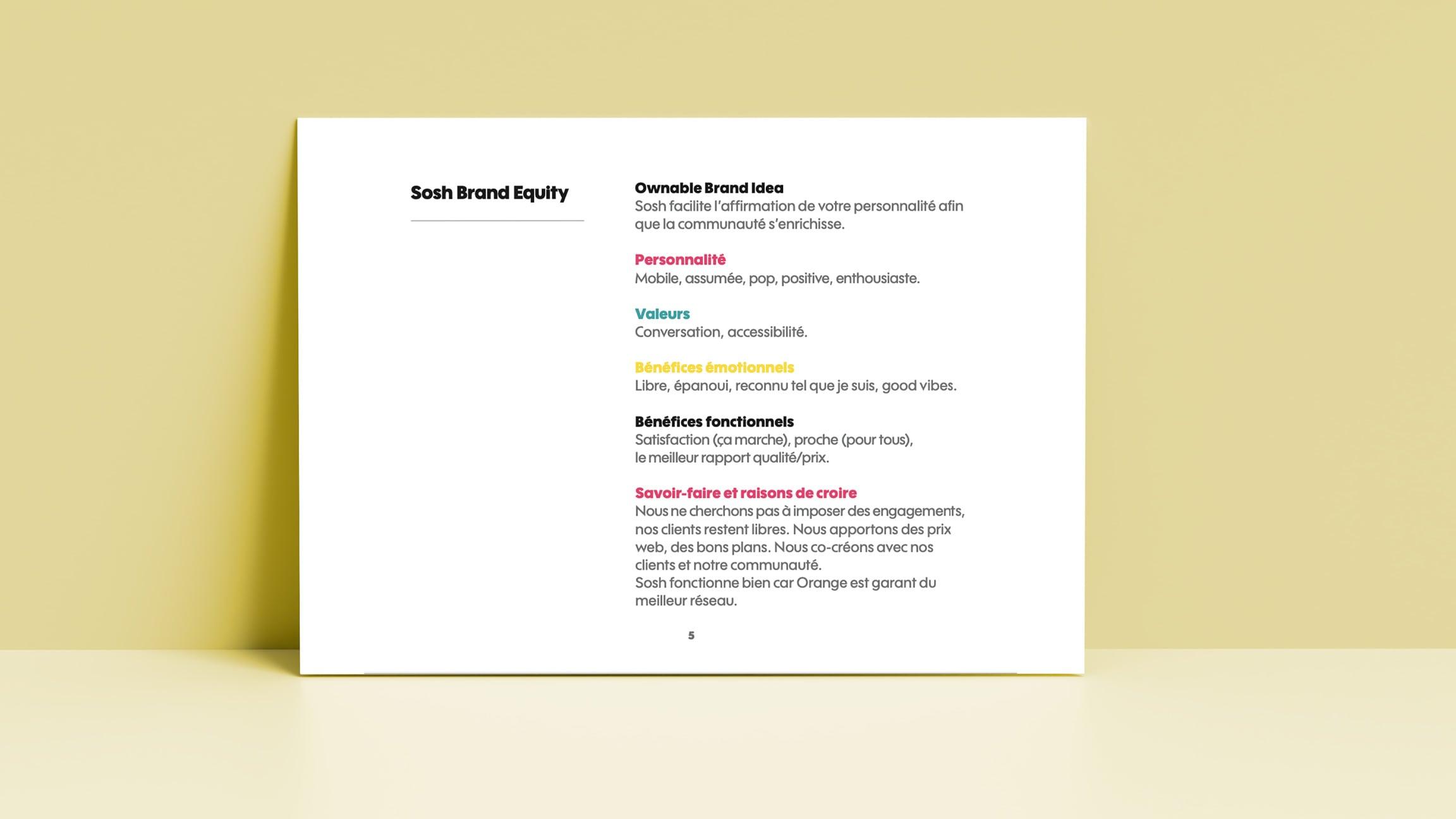 Visuel d'une charte graphique permettant d'avoir une image de marque et une stratégie pour se faire connaitre de ses clients et obtenir des leads