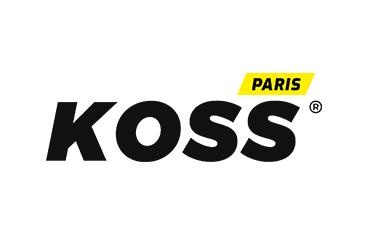 Rebranding : logo sur fond blanc des cabinets de kinésithérapie du sport et d'ostéopathie du sport KOSS Sport