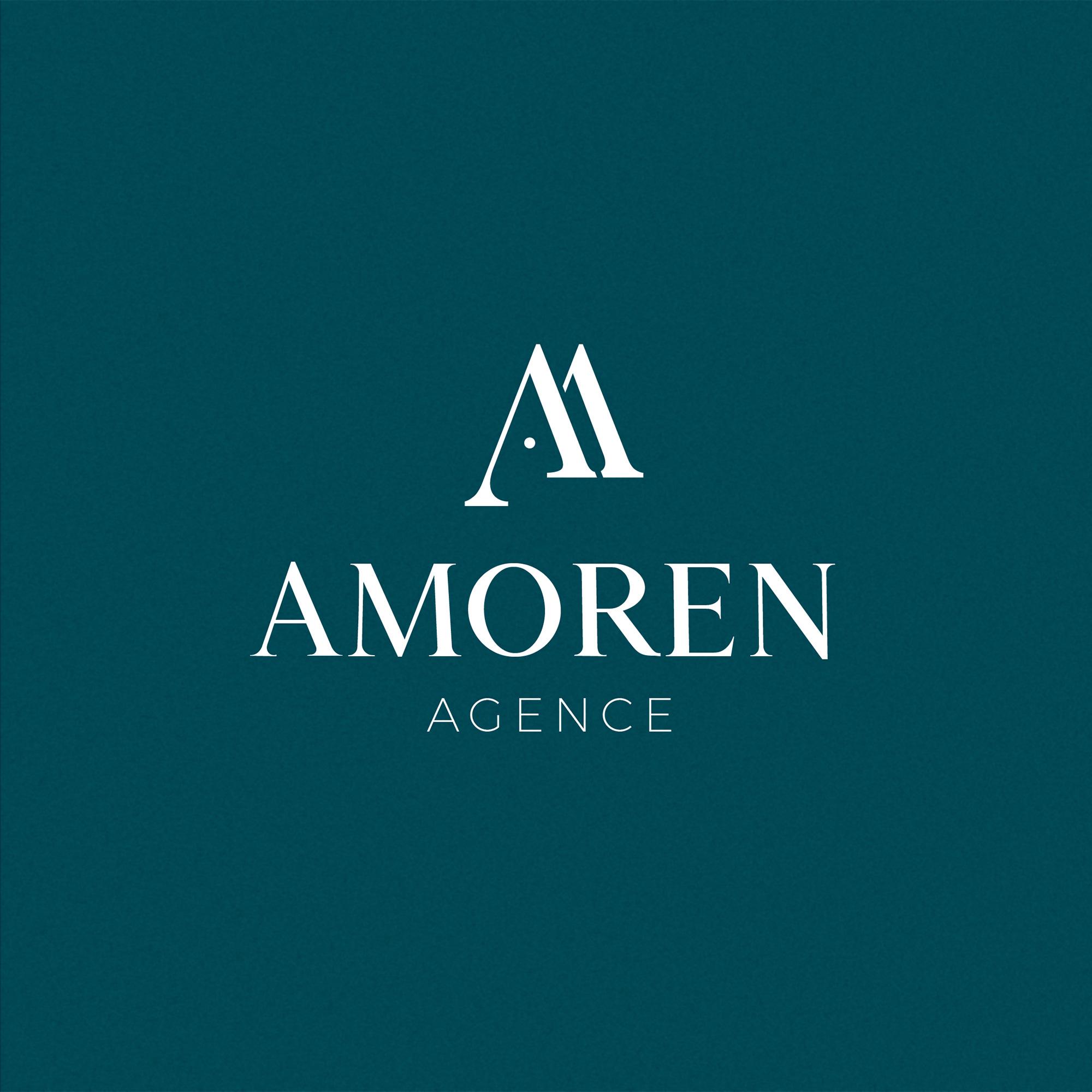 Logotype complet : refonte du logo de l'Agence Amoren
