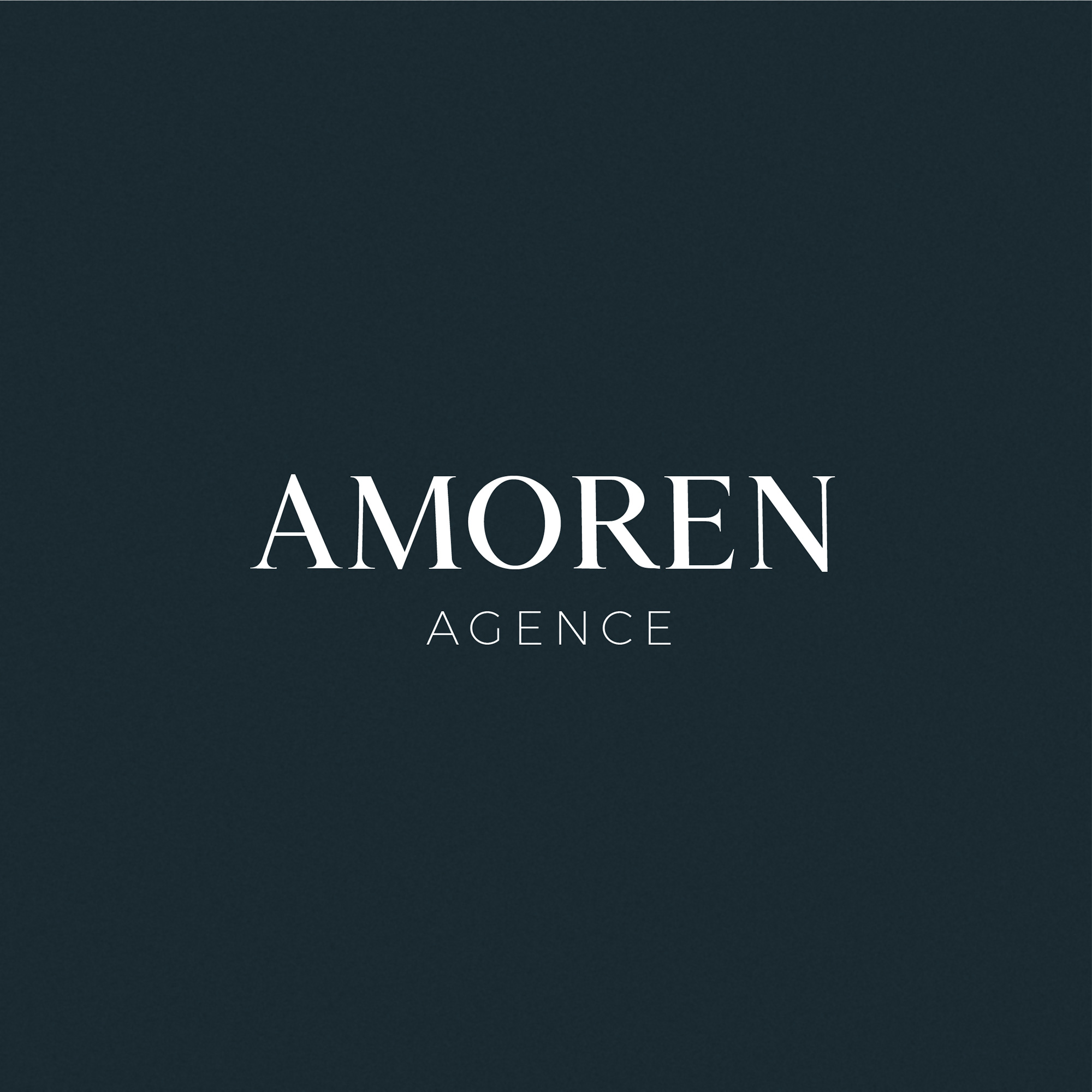 Logotype : refonte du logo de l'Agence Amoren