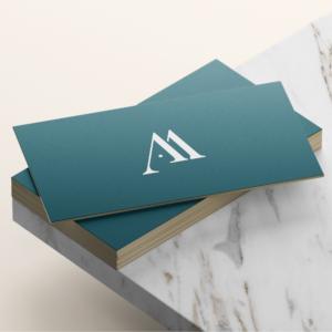 Refonte du logo de l'agence Amoren, agence événementielle. Logo réalisé par une agence de design graphique basé à Bordeaux et Paris.