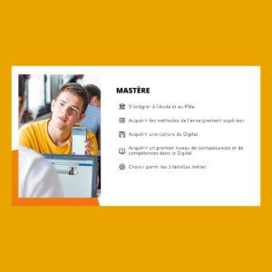 Support de présentation d'entreprise Powerpoint réalisée par un studio de design graphique. Communication d'entreprise